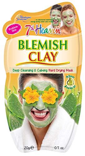 Montagne Jeunesse Blemish Mud Mask - Barro Anti-Imperfecciones, 21 g, Color Negro