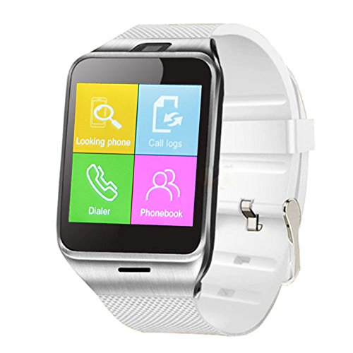 Padgene NFC Bluetooth Smart Watch for Android Smartphones Parent (White 3)