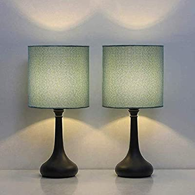 HAITRAL Modern Table Lamps Set of 2