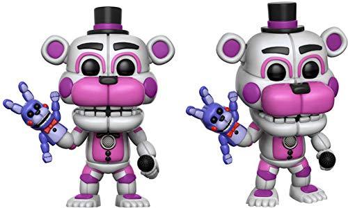 Funko- Pop Vinile Games FNAF Sister Location Funtime Freddy, 13730
