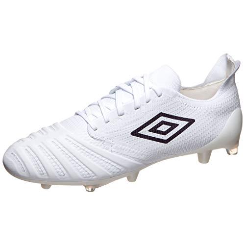 UMBRO UX Accuro III Pro FG Fußballschuh Herren weiß/lila, 12 UK - 47.5 EU - 13 US