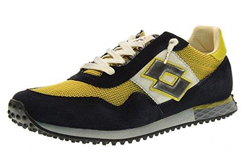 Lotto Scarpe Uomo Sneakers Basse S8854 Tokyo Targa Taglia 45 Giallo-Nero