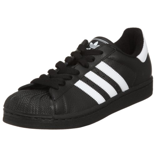 adidas Originals Men's Superstar Sneaker, Black