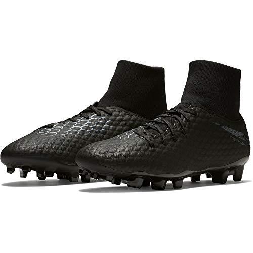 Nike Unisex-Erwachsene Hypervenom 3 Academy Df Fg Fitnessschuhe, Schwarz (Black/Black 001), 42 EU
