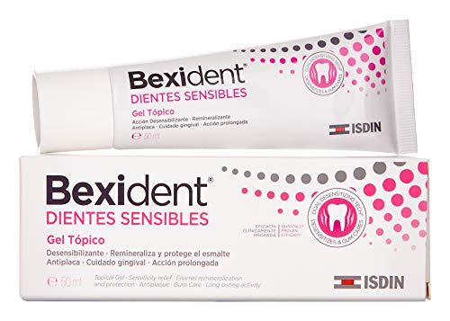 Isdin Bexident Dientes Sensibles Gel Tópico, Solución rápida y prolongada para la hipersensibilidad dental 1 x 50 ml