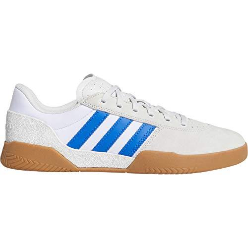 adidas City Cup, Zapatillas de Skateboarding para Hombre, Blanco (Crystal White/Blue/Gum4 Crystal White/Blue/Gum4), 44 EU