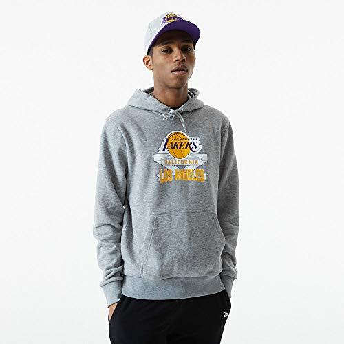 New Era NBA LOS Angeles Lakers Graphic Slam Hoodie Pullover, Größe:XXL
