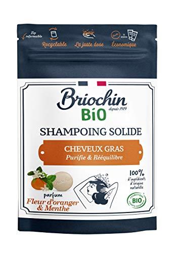 Briochin depuis 1919 Shampooing Solide Fleur d'Oranger/Cheveux Gras