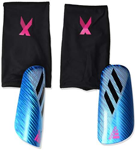 adidas X PRO Soccer Shin Guards , Bright Cyan/Black/Shock Pink  , L