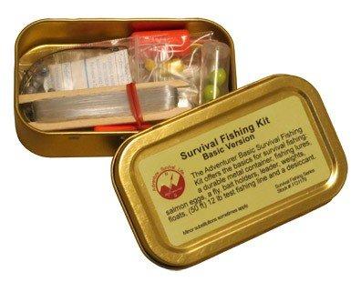 Best Glide ASE Survival Fishing Kit Basic Version