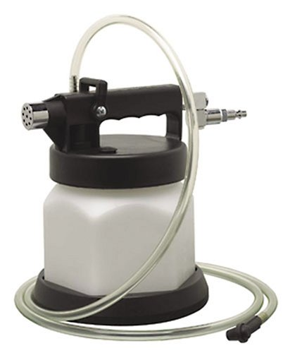 Mityvac MV6830 Professional Pneumatic Air Operated One Person Brake and Clutch Bleeder; Bleeds up to 2 Quarts (1.9 Liters) Per Minute with Simple and Efficient Operation