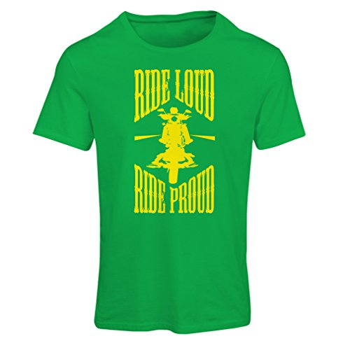 lepni.me Dames T-shirt Ride Loud! Biker Stijl Kleding Motorfiets Kleding