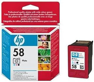 HP 3 X Photo Inkjet Print Cartridge 58