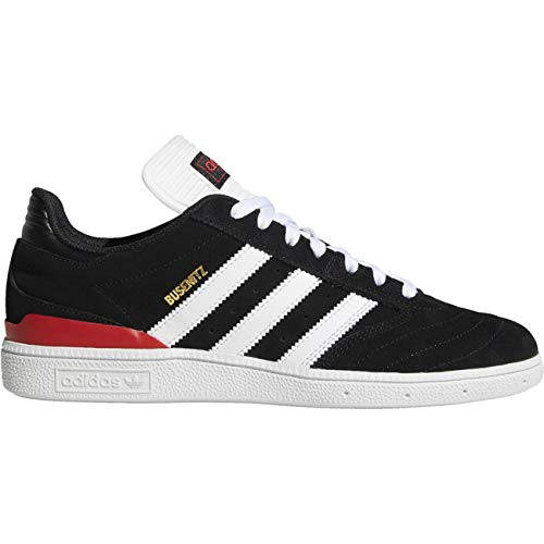 adidas Busenitz Pro, Zapatillas de Skateboard para Hombre, Negro (Cblack/Ftwwht/Scarle Cblack/Ftwwht/Scarle), 46 EU