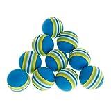 ITCUTE 10 Pcs/Ensemble Rainbow Ball Pet Jouets EVA Doux Interactif Chat Chien Chiot Chaton Jouer Drôle Coloré Cadeaux Mâcher des Boules Animaux Produits