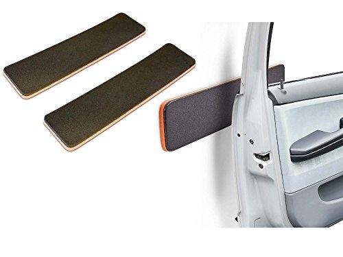 Preisvergleich Produktbild 2x Autotür Schutzleiste für Garage Auto Türschutz Türkantenschutz Türpolster