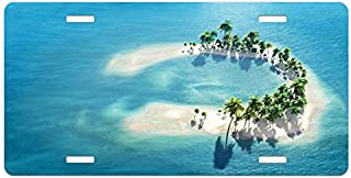Best license plate with palm tree in middle Reviews