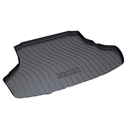 XYWD Car Boot Mats, Vehicle Tailored Rubber Cover Carpet Cargo Liner Tray Floor Pad, Vehicle Rear Trunk Protector Custom Luggage Accessories, Fit For Lex-us ES250 ES200