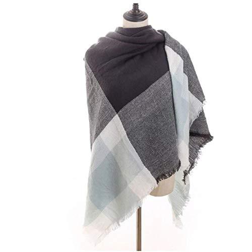 Sjaal Winter SjaalLuxe Dames Sjaals Gebreide Warme Sjaals En Omslagdoeken Plaid Grote Vierkante Deken Lady G