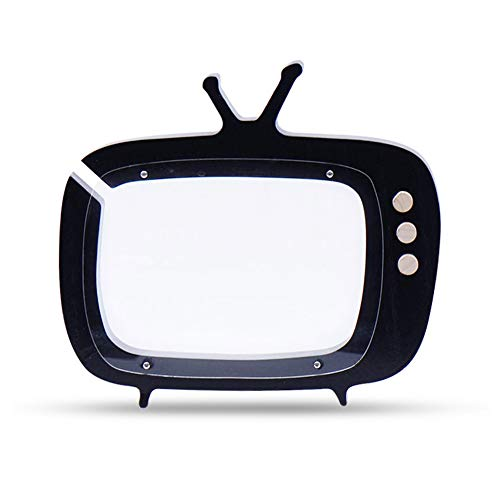 Ruiting Holz Fernseher Design-Münzen-Bank-Schwarze Nette Geld-Kasten-Neuheit Vorschul Kinderzimmer Dekor-Kind-Piggy Bank