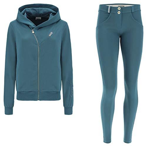 FREDDY Tuta WR.UP®-in con Pantalone WR.UP® e Felpa con Cappuccio - Hydro - Extra Small