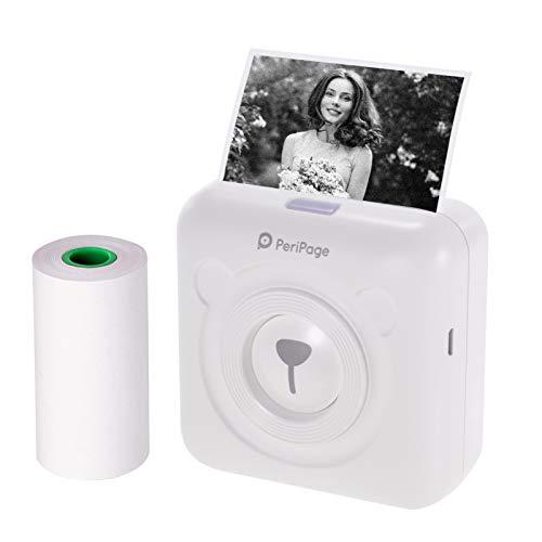 Bisofice PeriPage Imprimante Photo Portable Mini imprimante...