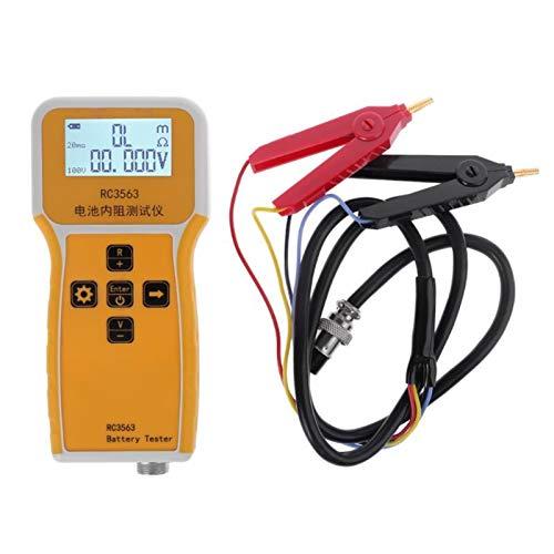 YUNJINGCHENMAN Batería de Mano RC3563 Analizador de probador de Resistencia Interna para vehículos de automóvil Batería de Plomo-ácido Célula Seca Chenman Tienda