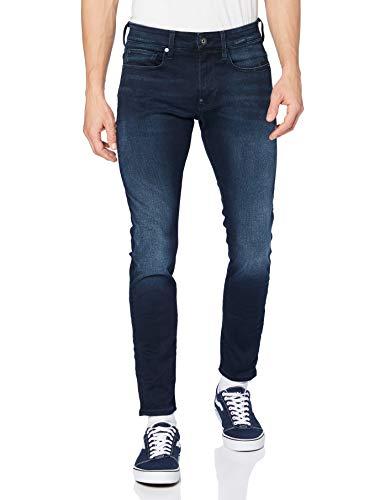 G-STAR RAW Revend Skinny Jeans, Blau (dk Aged 6590-89), 31W / 30L para Hombre