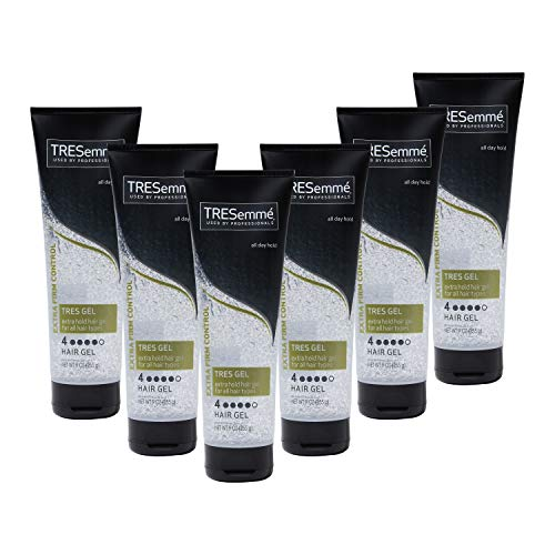 Price comparison product image TRESemmé TRES Two Hair Styling Gel,  Extra Hold Styling Extra Firm Control Hair Gel for All Hair Types 9 oz,  Pack of 6