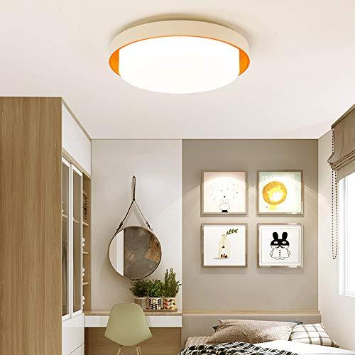 """Avior Home LED Deckenleuchte Kinderlampe """"Doughnut"""" Tageslicht ideal für Kinderzimmer und Jugendzimmer (orange)"""