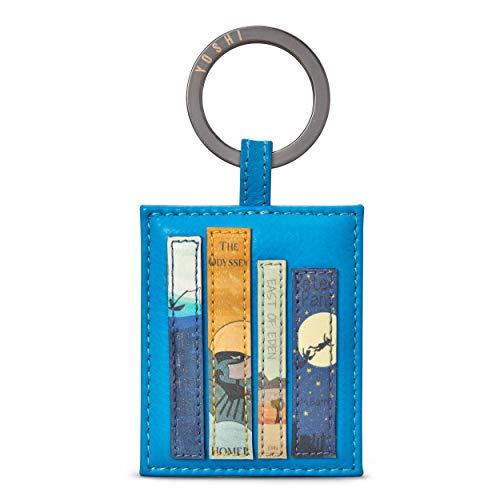 Llavero de cuero de Libros Bookworm de Yoshi