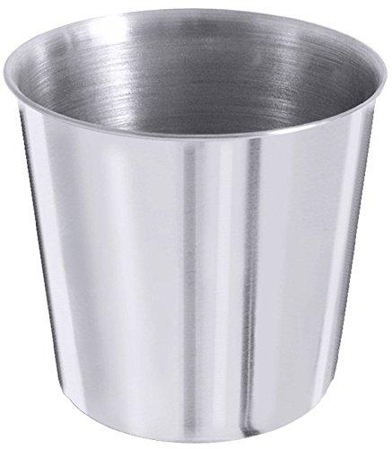 Dariolform aus Edelstahl, hochglänzend und in extra schwerer Qualität / Inhalt: 100 ml | ERK