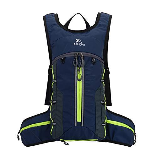 BWBIKE - Mochila para bicicleta impermeable, plegable, transpirable, ligera, para deportes al aire libre, viajes, montañismo, 18 l
