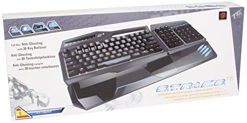 Mad Catz S.T.R.I.K.E.TE - Teclado (USB, Juego, PC/Server, Estándar, Derecho, Negro)