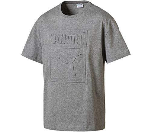Preisvergleich Produktbild PUMA Herren Archive Embossed Print T-Shirt,  grau