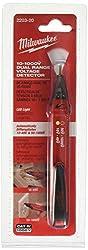 Milwaukee 2203-20 10-1000V Dual Range Voltage Detector