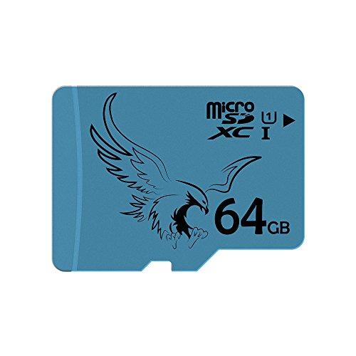 BRAVEEAGLE microSD 64GB Tarjeta de Memoria Micro SD de Alta...