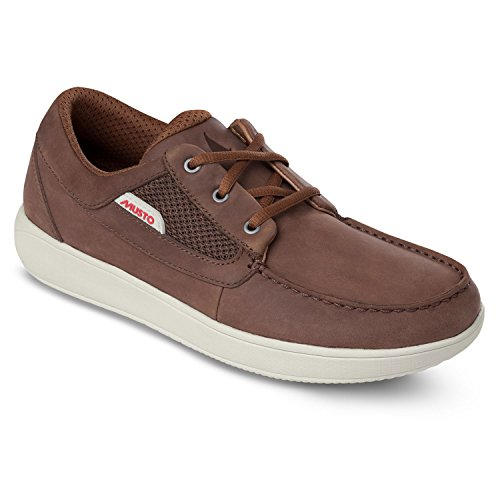 Musto Nautic Drift Sailing Yachting and Dinghy Shoes Dark Brown - Unisex - Outstanding Performance