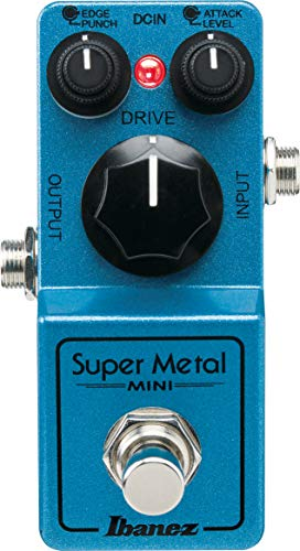 Ibanez SMMINI Super Metal Mini - Effects pedal - Blue Metallic