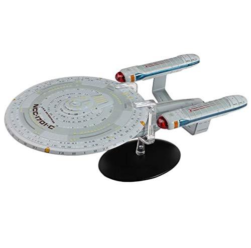 Star Trek – die Raumschiffsammlung - Eaglemoss Raumschiff Modell XL Edition #10 mit englischem Magazin U.S.S. Enterprise NCC-1701-C