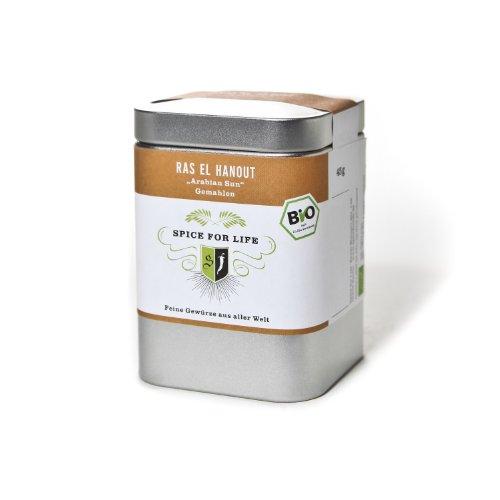Spice for Life Bio Ras el Hanut Arabian Sun - Dose - 60 gr