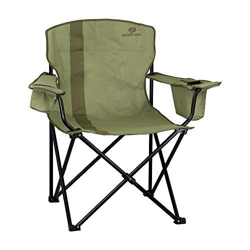 Mossy Oak Heavy Duty Folding Camping Chairs Lawn Chair One Size Dirt