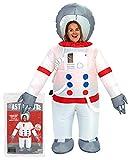 Traje de Astronauta Inflable |Traje Inflable Peculiar Tamaño Adulto |PoliésterCómodo |Resistente |Sistema de inflación Incluido |OriginalCup®