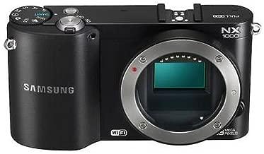 Samsung NX1000 Black ~ 20.3MP Digital Camera Body Only