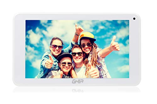 GHIA A7 Tableta (Wi-Fi, Quad Core, 1GB de RAM, 8GB de Almacenamiento, 2 Cámaras, WiFi, Android 8.1 GO,…