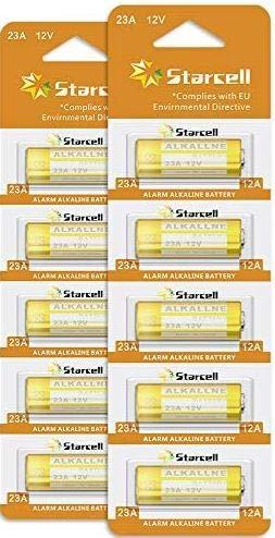 Starcell Super 23 A 12 V Hochvolt Alkaline Batterie (10 Stück)