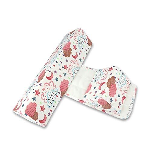 Almohada moldeadora para bebé, almohada para dormir lateral antivuelco, almohada triangular para posicionamiento de bebé para bebés de 0 a 6 meses ✅