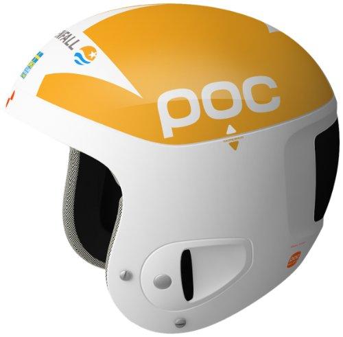 POC Skull Comp 2.0 - Casco para Ciclismo de Carreras Multicolor Yellow/White...