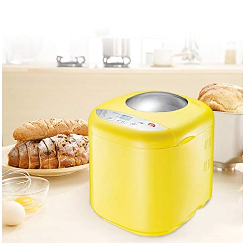 Learn More About Bread Machine, Breadmaker Automatic Bread Machine with Nut Dispenser, 1 Hour Heat P...