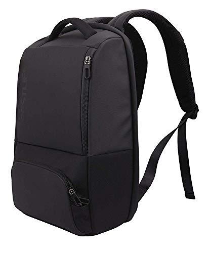 Bestlife anti-diefstal rugzak uit de serie Neoton. 23 liter inhoud laptopvak voor 16 inch laptops en tablets. Met USB-oplader. Kleur: zwart.